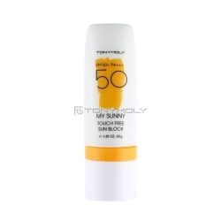 Tony Moly My Sunny Touch Free Sun Block  - Крем от солнца, 40 мг
