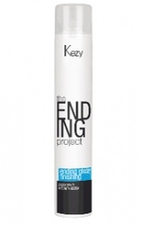 "Kezy professional - Спрей-лак надежной фиксации ""Ending glossy finishing spray firm hold"" 500 мл"