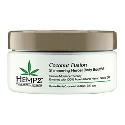Hempz Herbal Body Souffle Coconut Fusion - Суфле для тела с кокосом 227 гр