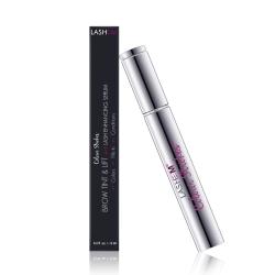 Lashem Colour Strokes Brow Tint & Lift with Lash Enhancing Serum -  Brunette - Тушь для бровей на основе сыворотки для роста с пептидами, Брюнет, 6 мл