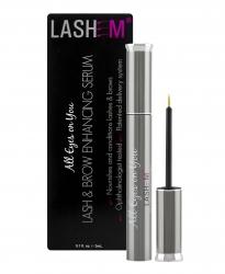 Lashem All Eyes on You Lash & Brow Enhancing Serum - Сыворотка для роста и укрепления ресниц и бровей с пептидами, 3 мл