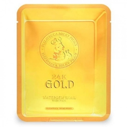 Elizavecca 24K Gold Water Dew Snail - Маска для лица улиточная, 25 г
