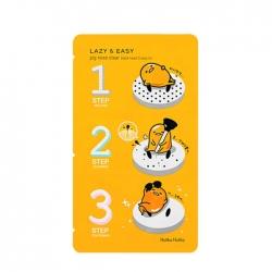 Holika Holika Gudetama Pignose 3-step Kit - Трехступенчатый набор для очистки пор, 1 шт