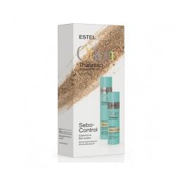 Estel Thalasso Sebo-Control - Набор для домашнего ухода (шампунь, бальзам)