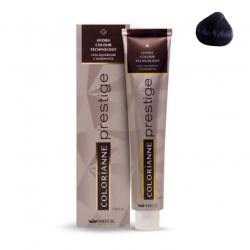 Brelil Colorianne Prestige - Крем-краска 3.67 Темно-коричневый божоле, 100 мл