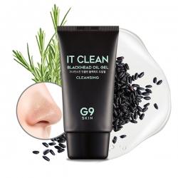 Berrisom G9Skin It Clean Blackhead Oil Gel - Очищающий гель от черных точек, 50 мл