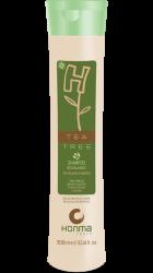 Honma Tokyo H-Tea Tree - Шампунь для жирных волос бессолевой, 300 мл
