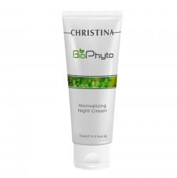 Christina Bio Phyto Normalizing Night Cream - Нормализующий ночной крем, 75мл