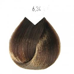 L'Oreal Professionnel Majirel - Краска для волос 6.34 (тёмный блондин золотисто-медный), 50 мл