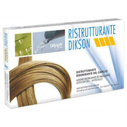 Dikson Ristrutturante - Восстанавливающий комплекс мгновенного действия для очень сухих и поврежденных волос 12*12 мл. Общий объем: 144 мл