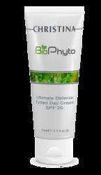 Christina Bio Phyto Ultimate Defense Tinted Day Cream SPF 20 - Дневной крем «Абсолютная защита» SPF 20 с тоном 250 мл