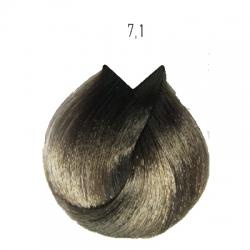 L'Oreal Professionnel Majirel - Краска для волос 7.1 (блондин пепельный), 50 мл
