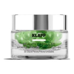 Klapp Beauty Capsules Moisturizing Serum + ProVitamin B5 - Капсулы для лица с витамином B5, 30 шт