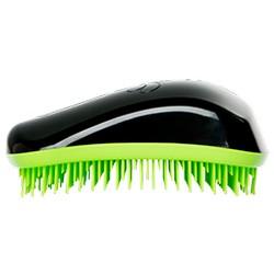 Dessata Hair Brush Original Black-Lime - Расческа для волос, Черный-Лайм