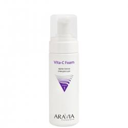 Aravia Professional - Крем-пенка очищающая Vita-C Foaming, 160 мл