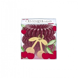 Invisibobble TUTTI FRUTTI Cherry Cherie - Резинка-браслет для волос 3 штуки