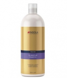 Indola Glamorous Oil Shampoo – Шампунь «Чарующее сияние» 1000 мл