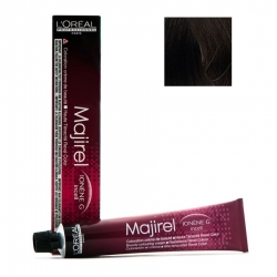L'Oreal Professionnel Majirel - Краска для волос 4.8 (шатен мокка), 50 мл