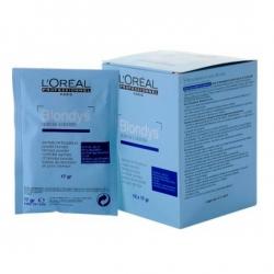 L'oreal professionnel blondys: пакетики с порошком для осветления натуральных волос лореаль блондис, 12 шт по 17 гр