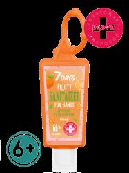 7 Days Orange - Детский гель для рук c антисептическим эффектом 6+, 30 мл