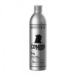 Selective CEMANI Gray - Шампунь Gray для устранения желтых оттенков, 250 мл