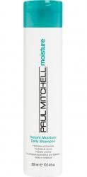 Paul Mitchell Instant Moisture Daily Shampoo - Увлажняющий шампунь для сухих и нормальных волос, 300мл