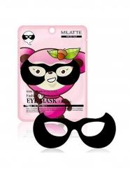 Milatte Fashiony Black Eye Mask Raccoon - Маска от морщин вокруг глаз, 10 мл