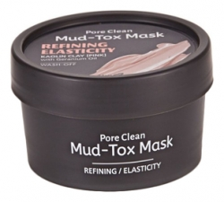 TheYEON Pore Clean Mud-Tox Mask Pink- Очищающая детокс-маска с глиной Розовая, 80 мл