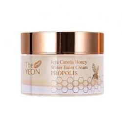 The YEON Jeju Canola Honey Water Balm Cream Propolis - Увлажняющий крем-бальзам с мёдом и прополисом, 50 мл