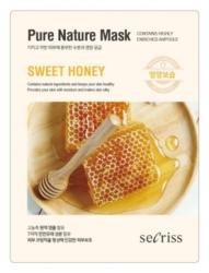 Anskin Secriss Pure Nature Mask Pack- Sweet honey - Маска для лица тканевая с медом, 25мл