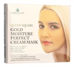 Anskin Gold Moisture Perfect Cream Mask - Маска для лица антивозрастная с золотом (Набор) 4*50гр