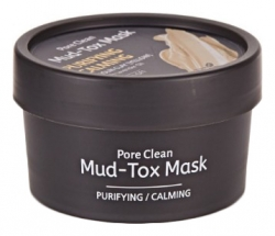 TheYEON Pore Clean Mud-Tox Mask Yellow - Очищающая детокс-маска с глиной Желтая, 80 мл