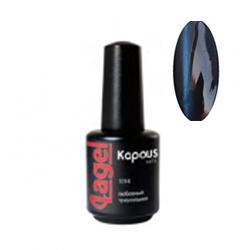 Kapous Lagel Гелевый лак «Cat eye» голубой 15 мл