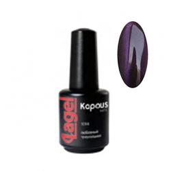 Kapous Lagel Гелевый лак «Cat eye» фиолетовый 15 мл