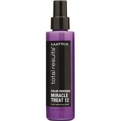 Matrix Total Results Color Obsessed Miracle Treat 12 - Несмываемый спрей для защиты цвета окрашенных волос 125 мл