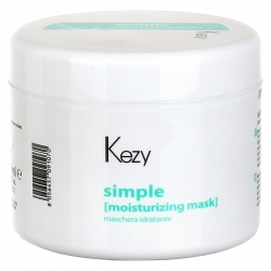 Kezy Moisturizing mask - Увлажняющая маска для волос, 500 мл