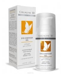 Medical Collagene 3D Eye Contour Gel - Коллагеновый гель-контур для кожи вокруг глаз с янтарной кислотой, 15 мл