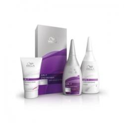 Wella Curl It Extra Conditioning Intense Kit - Набор с интенсивной формулой для нормальных и трудноподдающихся волос 30мл+75мл+100мл