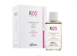 Kaaral К05 Gocce Azione Mirata - Жидкость против выпадения волос направленного действия 50 мл