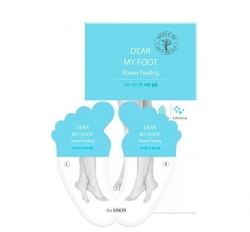 The Saem Dear My Foot Power Peeling - Пилинг для ног, 40 мл
