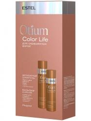Estel Otium Color Life - Набор для окрашенных волос (шампунь 250 мл, бальзам 200 мл)
