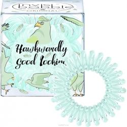Invisibobble Power Hawkwardly Good Looking - Резинка для волос серо-зеленый, 3 шт