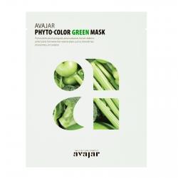 Avajar Phyto-Color Green Mask - Маска увлажняющая и успокаивающая 1 шт