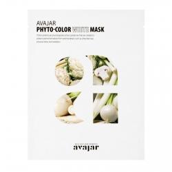 Avajar Phyto-Color White Mask - Маска тонизирующая с увлажняющим эффектом 1 шт