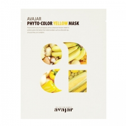 Avajar Phyto-Color Yellow Mask - Маска осветляющая для лица 1 шт
