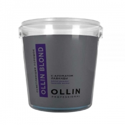 Ollin Blond Powder Aroma Lavande - Осветляющий порошок с ароматом лаванды, 500 г