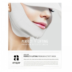 Avajar Perfect V lifting premium activity mask - Маска лифтинговая с SPF защитой, белая 1 шт
