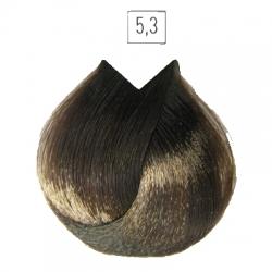L'Oreal Professionnel Majirel - Краска для волос 5.3 (светлый шатен золотистый), 50 мл