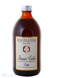 Egomania Shower Gelly Grape - Гель для душа Виноград 500 мл
