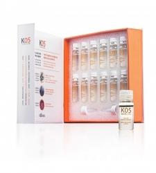 Kaaral К05 Lozione Seboequilibrante - Лосьон для восстановления баланса секреции сальных желез 12*10 мл. Общий объем: 120 мл